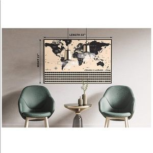Scratch Off Map of The World- New Scratch Off Map